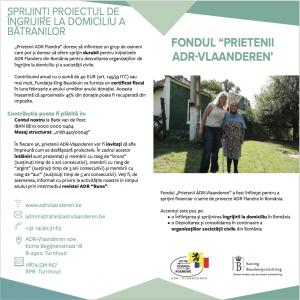 fondul Prietenii ADR Vlaanderen